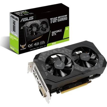 Asus TUF Gaming GeForce GTX 1650 OC Edition 4 GB GDDR6 por 234,25€