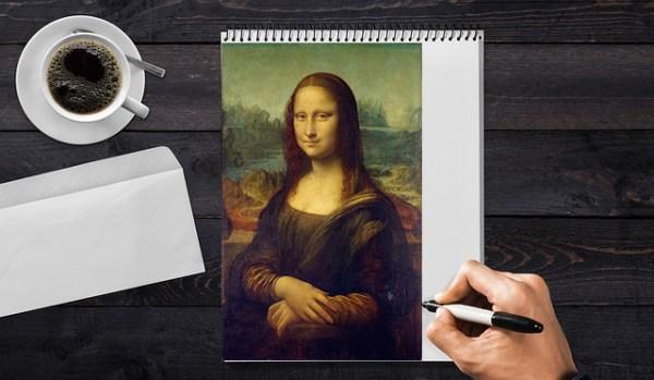 Exemplo da Mona Lisa