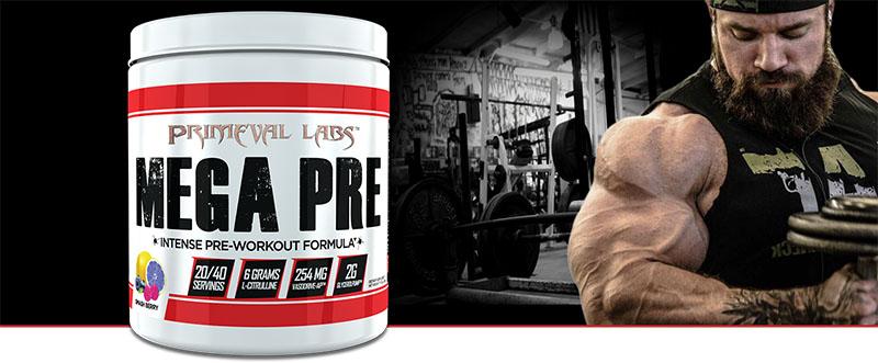 Mega pre Primeval Labs