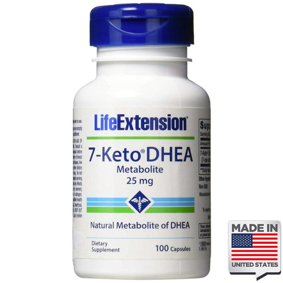 7-keto DHEA 25mg life extension