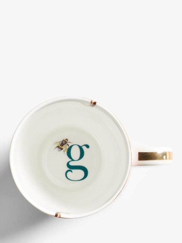 Yvonne Ellen Alphabet Mugs - G Inner
