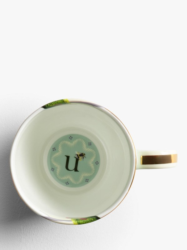 Yvonne Ellen Alphabet Mugs - U Inner