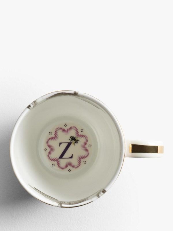 Yvonne Ellen Alphabet Mugs - Z Inner