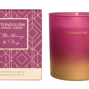Stoneglow London Reed Candle in Blackberry & Bay