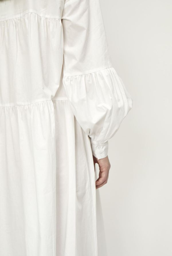 Brandy Maxi Dress in White