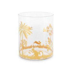 La Majorelle Water Glass in Gold