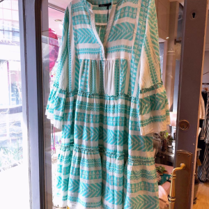 Aztek Dress in Mint Green