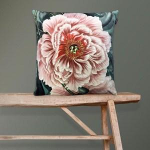Peony Velvet Cushion