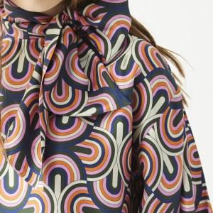 Ilaria Shirt Ancona Silk Print