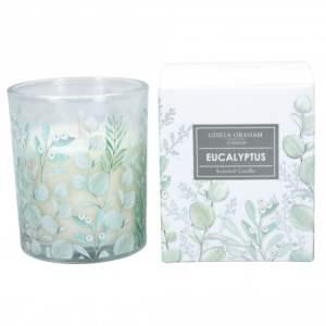 Gisela Graham Candle Eucalyptus Garden Scented Candle