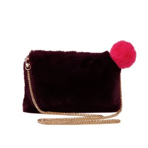 Stella Clutch in Burgundy
