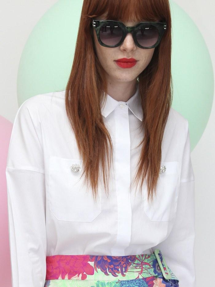 Telma Confort White Shirt