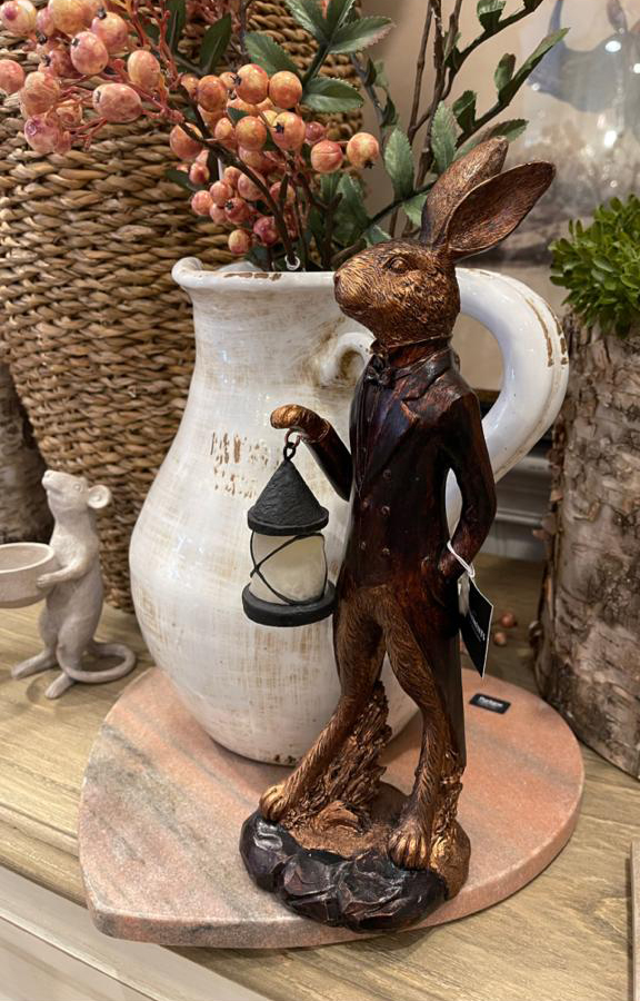 Hare in Waistcoat Decor Piece