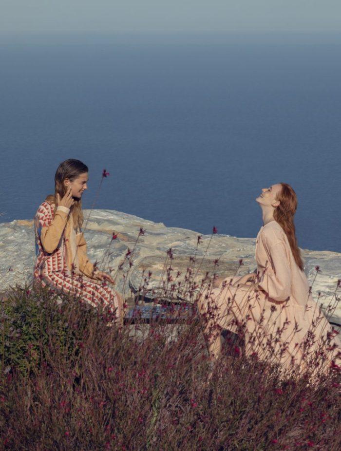Devotion Twins Pink Maxi Dress
