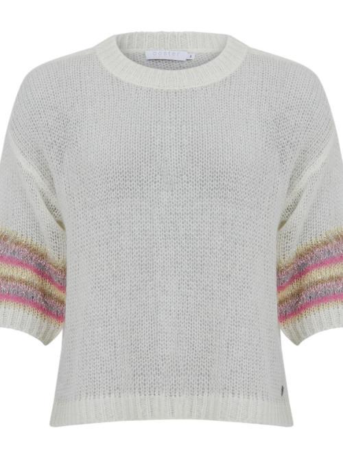 Lurex Knit in White