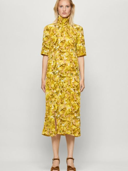 Angie Dress in Yellow