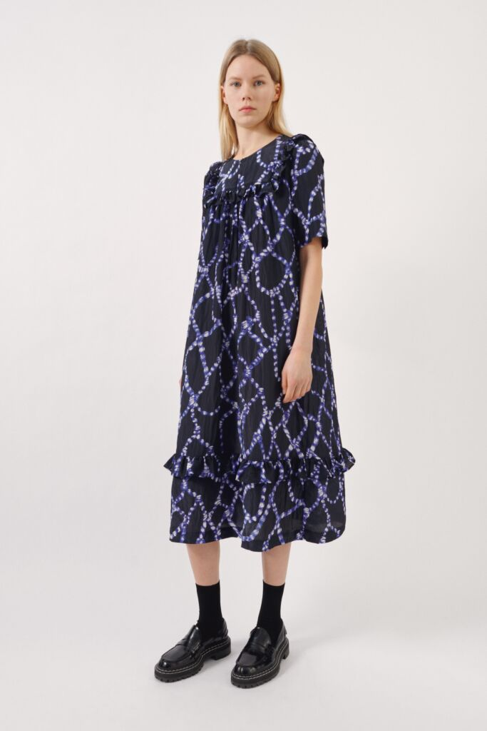 Ailing Dress in Blue