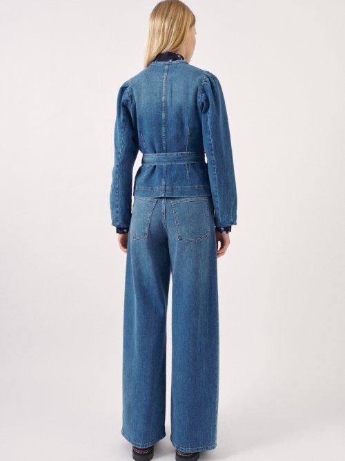 Balzak Jacket in Denim Blue