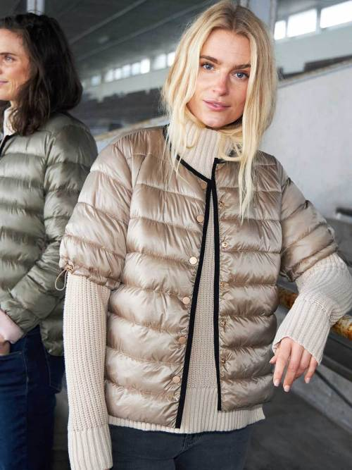 CC Heart Quilted Vest