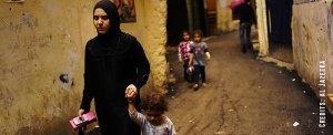 Conheça Aisha: refugiada e mãe no Oriente Médio
