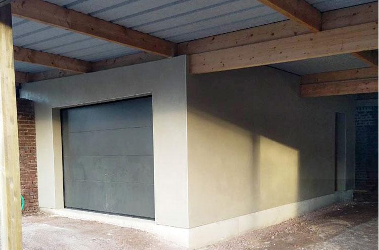 Réalisation d'un garage à Athies (62)