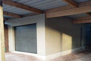 Réalisation d'un garage à Athies