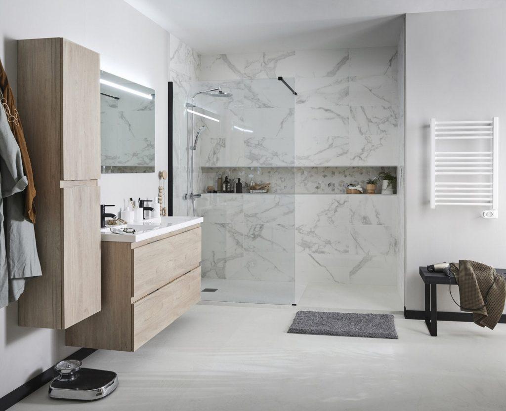 carrelage salle de bain quels motifs