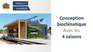conception bioclimatique saisons