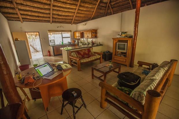 Superbe Maison Au Toit De Chaume Inhambane Au Mozambique