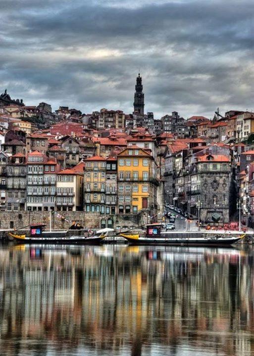 Les Maisons Colores De Porto