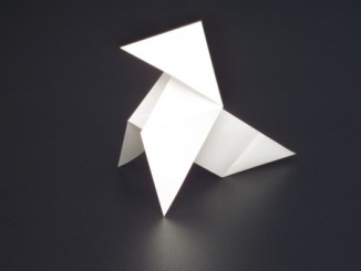 Une cocotte en papier pour amuser les enfants
