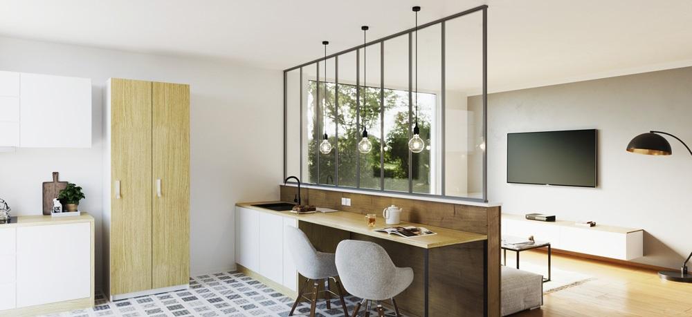 Separation Cuisine Salon 6 Idees En 15 Photos Pour Separer L Espace