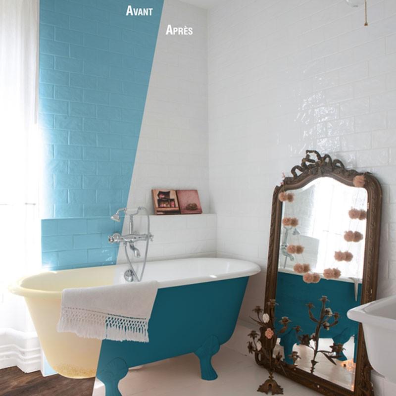 sa salle de bain sans casser le carrelage