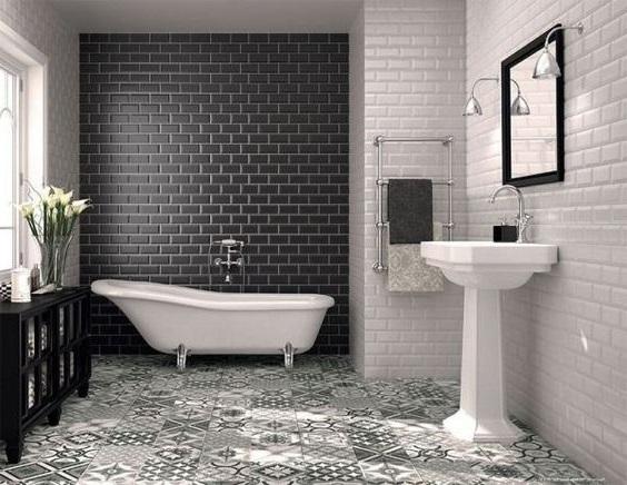 salle de bain noire 17 idees et