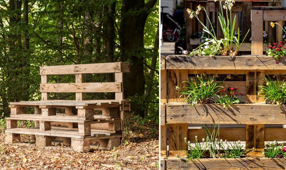 Meuble De Jardin En Palettes 20 Idees Diy Canons