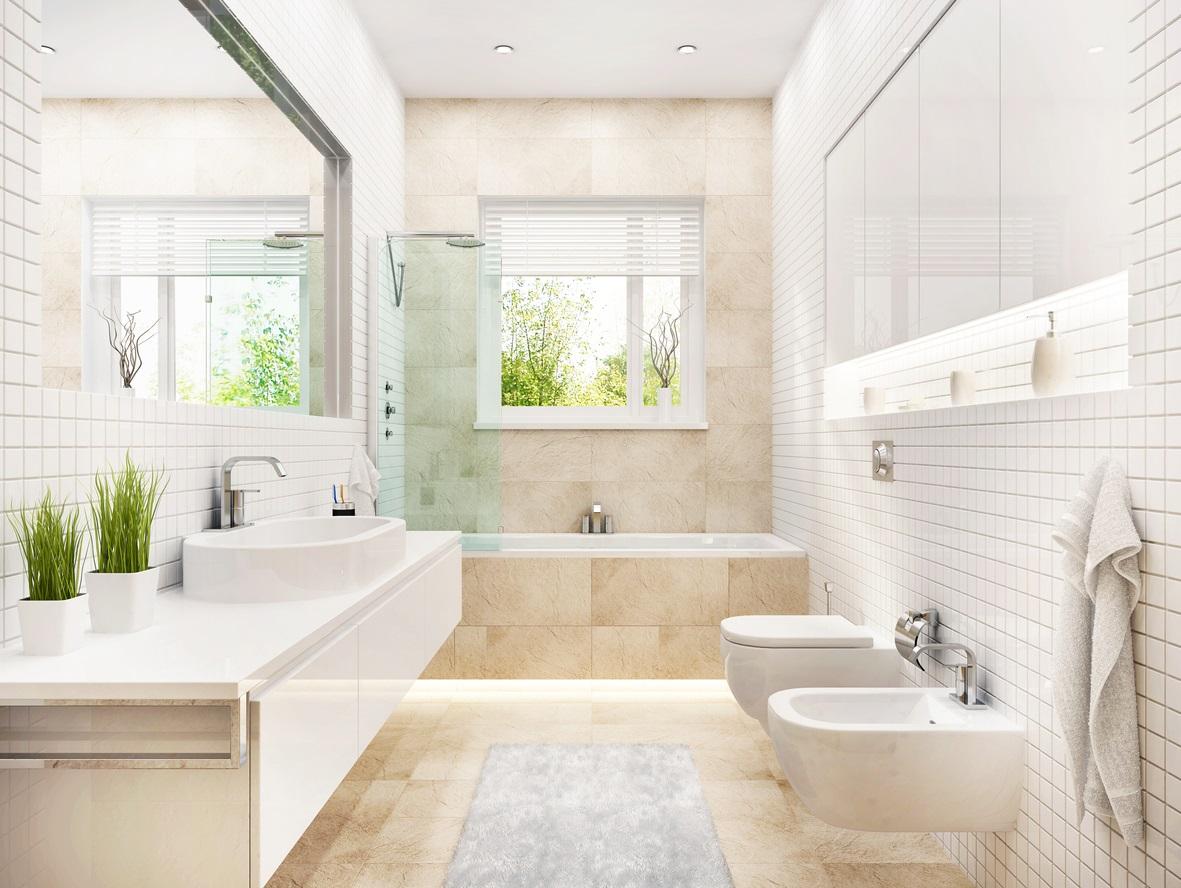 salle de bain blanche 25 modeles pour inspirer votre deco