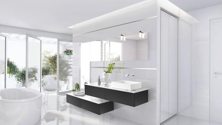 salle de bain blanche 25 modeles pour