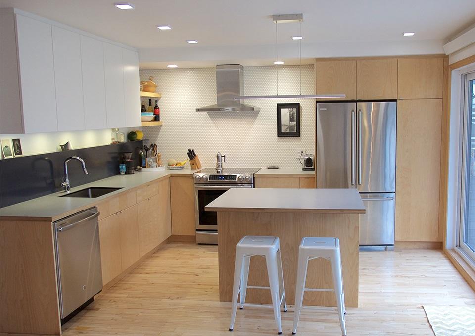 cuisine en bois clair 21 idees de
