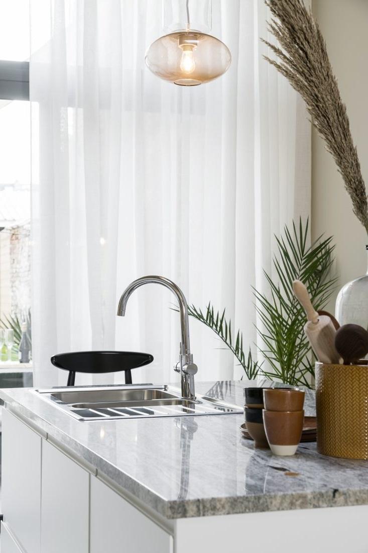 rideaux pour une cuisine moderne 15