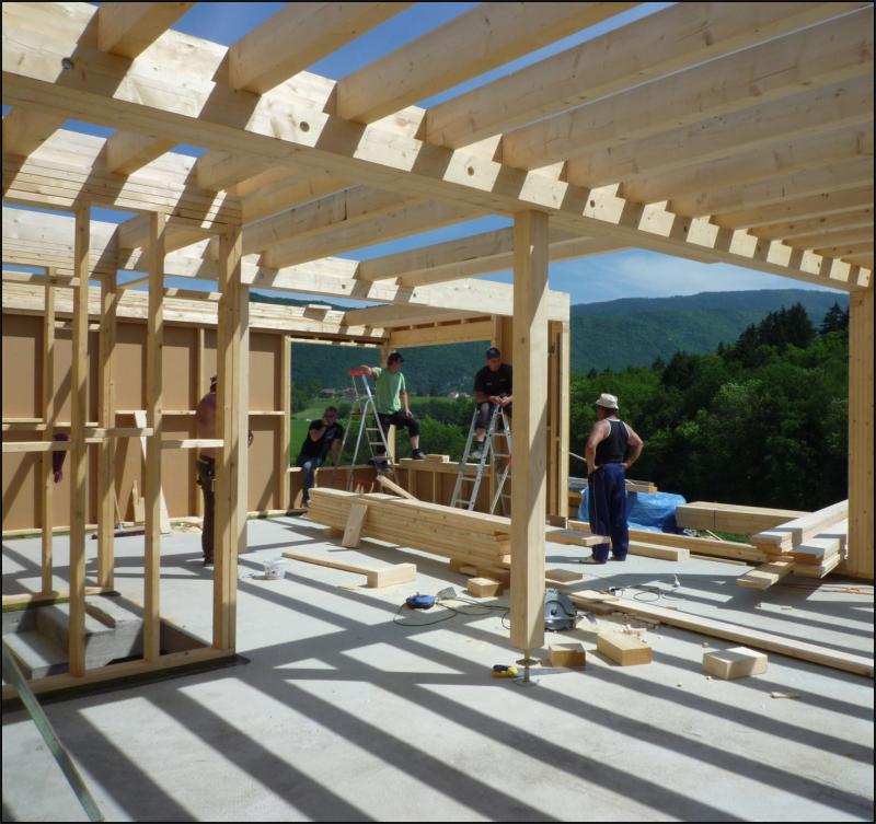 Maison Nezrouge Gros Uvre Ossature Bois Amp Charpente