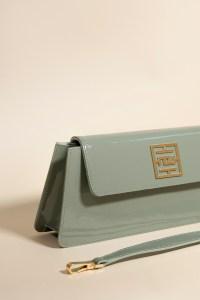 baguette bag kenza green