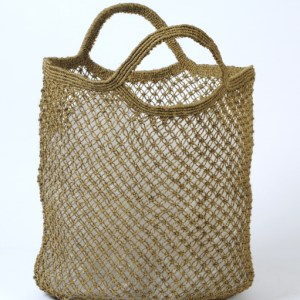 Jute shopping bag olive