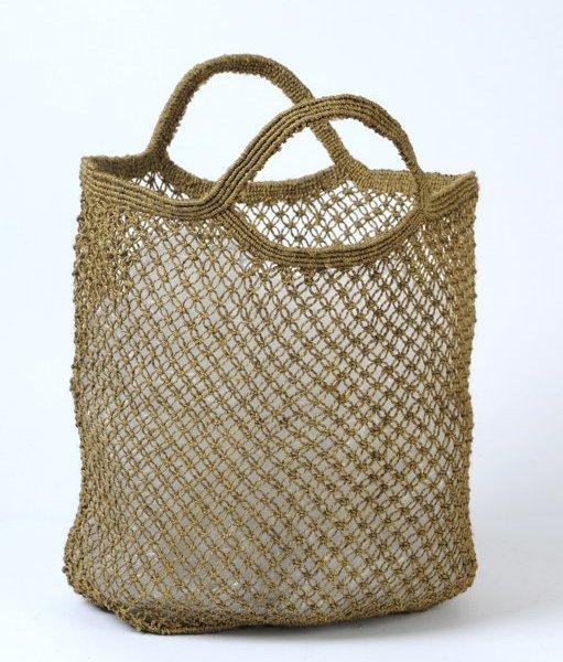 Jute shopping bag olive