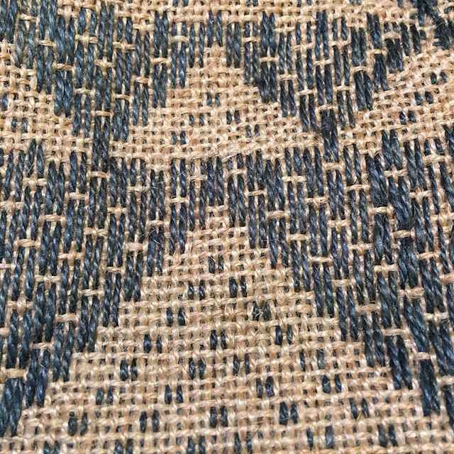 Detail of hand woven jute Jamdani bag @maisonbengal hall1 stand D90