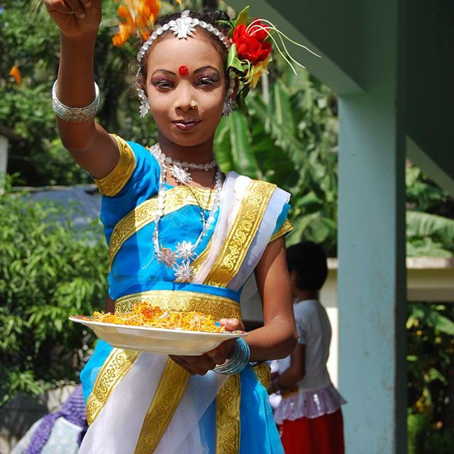 Young Bengali dancer