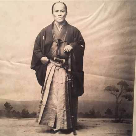Samurai officer sent to Europe in 1860 to negotiate trade deals for Japan