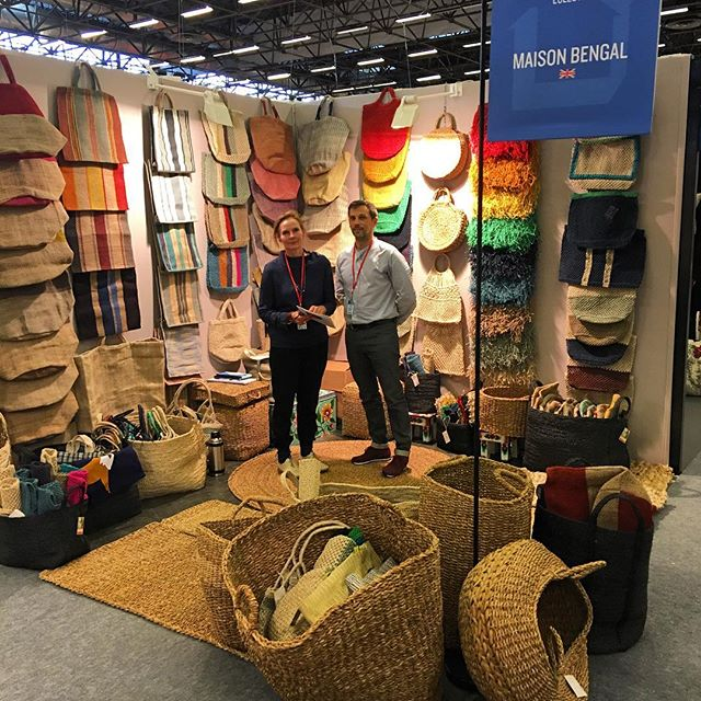 And we're off! Maison et Objet Hall 1 stand D90 - looking forward to seeing all our regular customers and meeting new ones