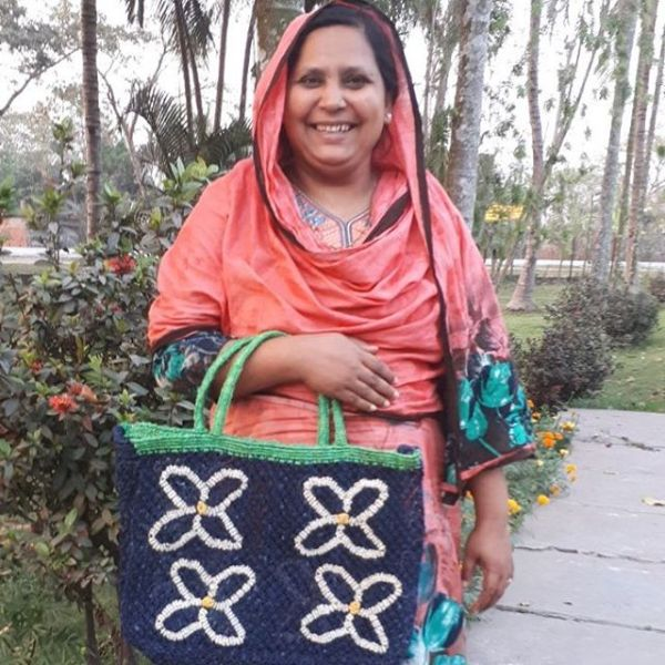 Spring has sprung and the daisies will soon be here – as modelled by Isharat Ara