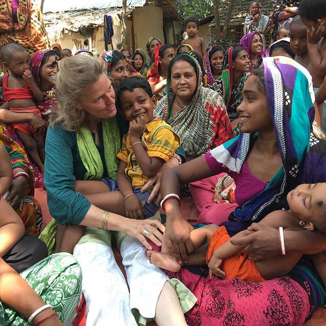 In situ - it is always such a privilege to spend time with the women who make our products and to try and better understand their lives, challenges, hopes and dreams