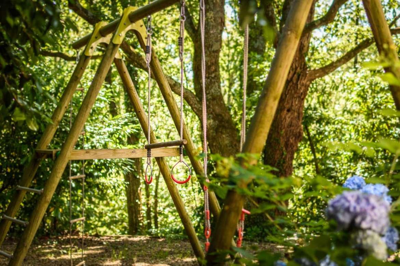 EtxeXuria-forêt balancoire